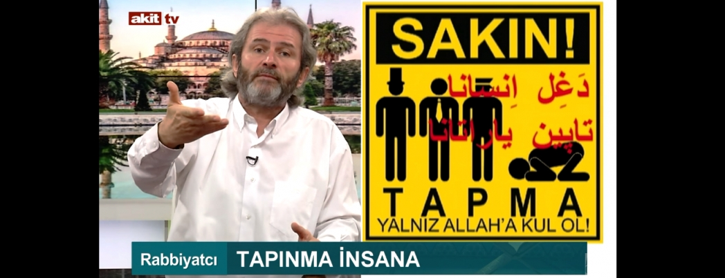 Tapınma insana (VİDEO)